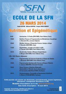 Programme Ecole de la SFN